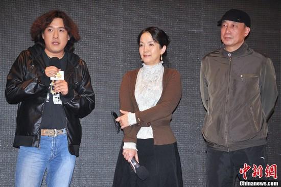 吕丽萍与儿子张博宇,宋佳与女儿张楚楚