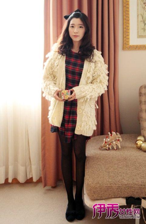 【冬季服装搭配】毛衣外套搭出甜美派淑女范 -go 毛衣外套搭出淑女范