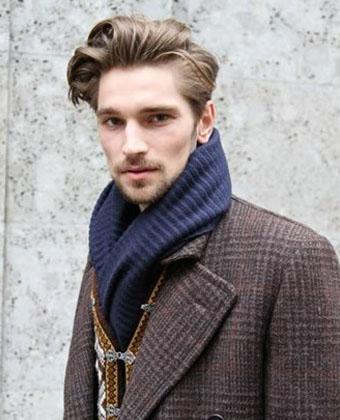 9款时尚的男生发型 无刘海造型更帅气