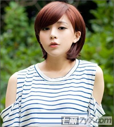 2013最新流行女生短发发型 个性短发打造帅气