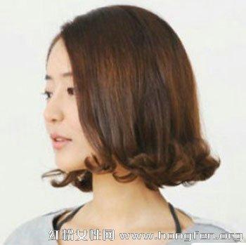 韩式蛋卷头 潮女最爱减龄短发烫发发型【5】