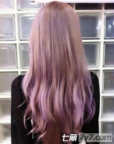 2013年发型流行趋势 韩系长卷发发型染发颜色大