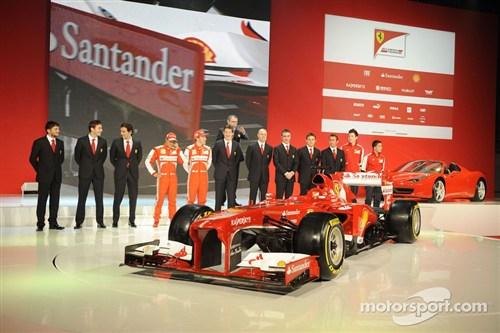 中国 法拉利/F138是法拉利改组设计团队以来完成的首部F1赛车。