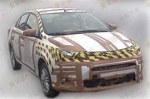 或替代威驰 丰田全新小型车国内曝光高清图片
