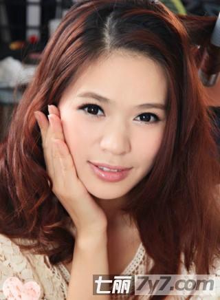 好看的刘海编发盘发发型 简单教程打造淑女发型【2】
