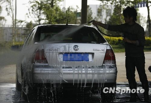 春节期间洗车卡失效洗车价格暴涨成行业潜规则