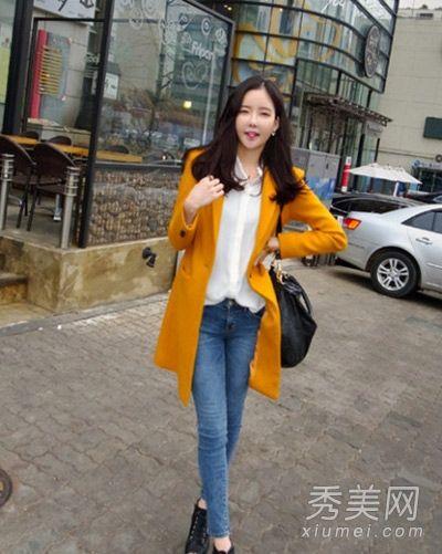 2013韩国时尚街拍 偷师街头萌妞俏搭术