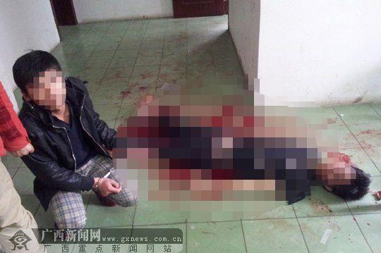 除夕当日男子在年会后持刀砍死同事 事发南宁(图)