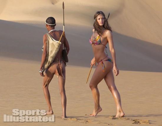 土著原始部落女人分娩
