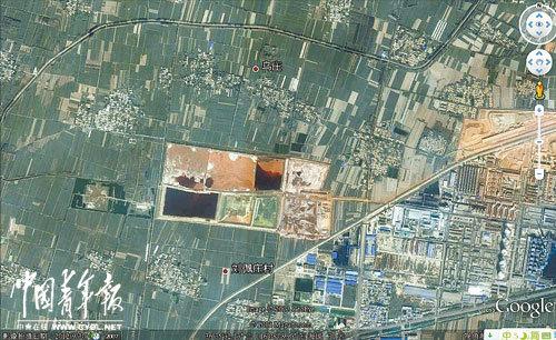 村民称地下水被信发铝电污染只能喝邻县自来水