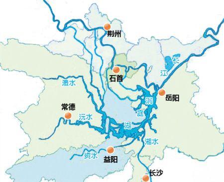 益阳城区规划图