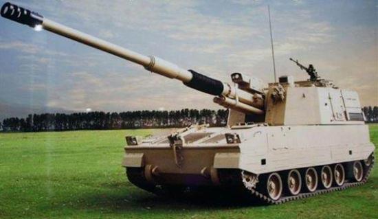 中方在阿布扎比强力推出PLZ-52 世界领先(图)