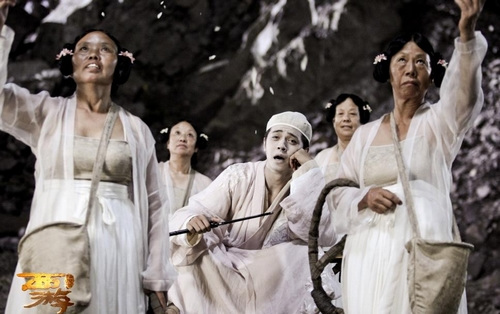 罗志祥/由周星驰执导的喜剧片《西游·降魔篇》于2月10日公映以来,目前...