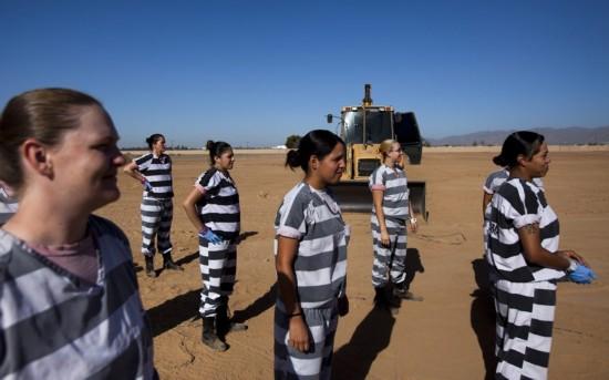 美国女囚犯的日常生活【8】--公益--人民网
