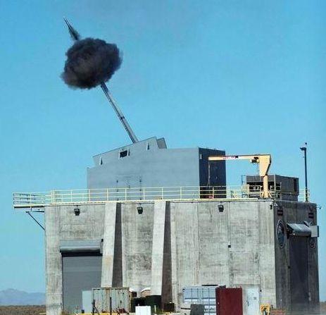 美海军155毫米远程对陆攻击弹药测试成功(图)