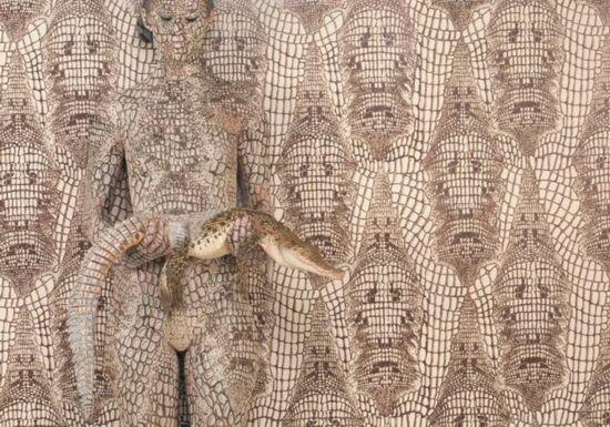 最唯美人体艺术彩绘:花鸟与女体合一 组图【1