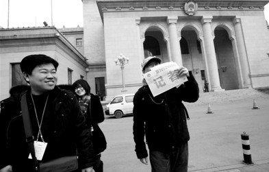 全国两会期间北京不封路 车辆主要路口交替放行