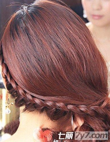 2款简单好看的发型扎法步骤 diy高贵知性美发型图片
