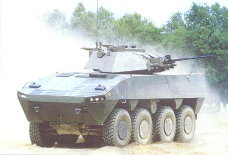 瑞典军方接收首批AMV轮式步兵战车(图)