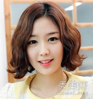 在线观看韩式蛋卷烫短发 韩式中分蛋卷头短发 韩式大蛋卷中短发