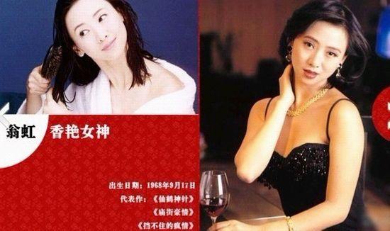 王祖贤朱茵林熙蕾 盘点那些年我们心中的女神