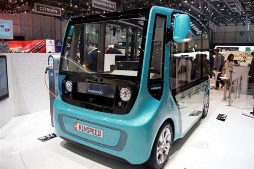 2013日内瓦车展:林斯比MicroMAX概念车