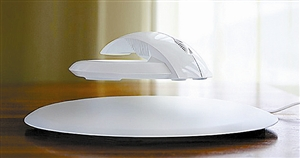 俄罗斯设计师设计悬浮鼠标 可缓解手部疲劳(图)