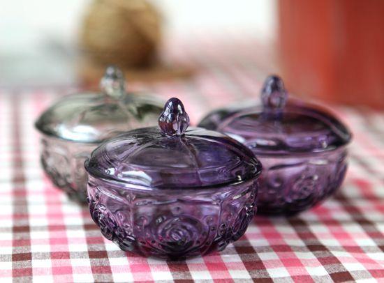玻璃 玫瑰花/玫瑰花玻璃储物罐