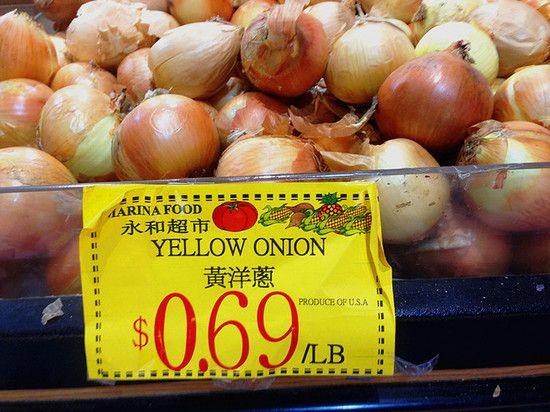 实拍美国超市肉菜价格