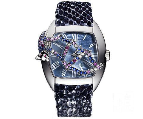 动物系列珠宝腕表充满童话意味