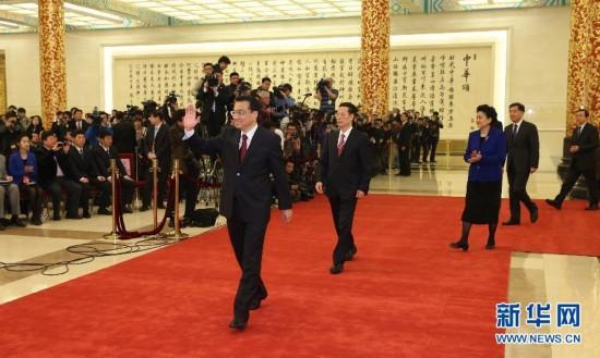 文字实录:国务院总理李克强会见中外记者--海南