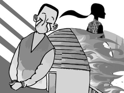 儿童法治绘画图片全-制图陶刚-女儿音讯全无5年 父亲故意纵火逼警察出面寻找