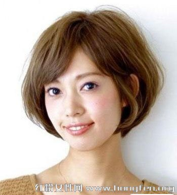 新女生发型修颜减龄短发发型