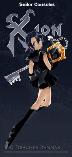 当动画角色穿越成美少女战士