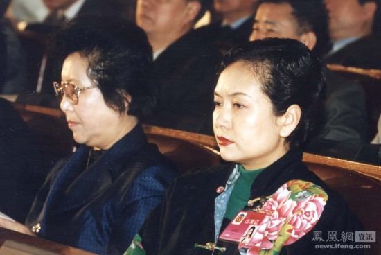 除了担任总政歌舞团团长,彭丽媛还是第八届、九届、十届全国政协