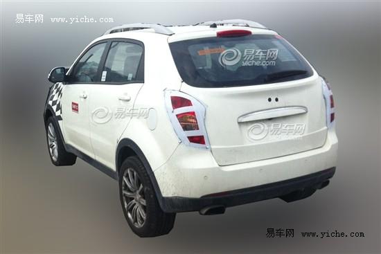 MG新SUV车型谍照曝光 或上海车展亮相高清图片