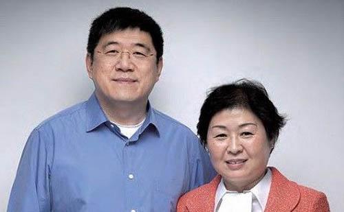 张茵 刘名中夫妇