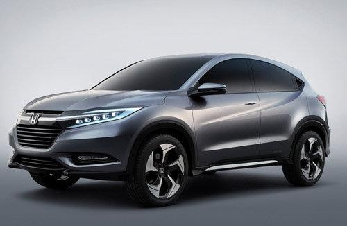 广汽本田将生产小型SUV 最快明年底亮相