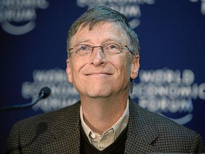 微软创始人比尔・盖茨(资料图)