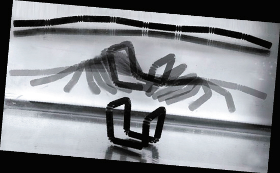 "4D打印技术能让物体""自行组装"""