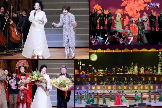 《木兰诗篇》在总政歌舞团团长彭丽媛的率领下,应邀在日本东京、