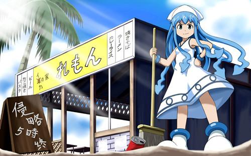 日本男性最喜欢的动漫蓝发美少女是