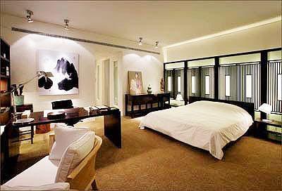 豪宅内景-舒适的卧室