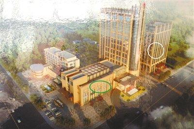 """河北霸州官商""""合作"""" 拆环保楼与酒店置换土地"""