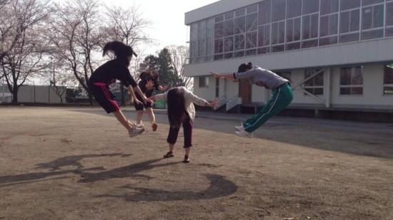 """日本女生""""气功波""""爆红网络【组图】"""