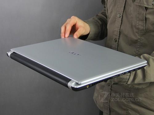 Acer V5-431P銀色 外觀圖
