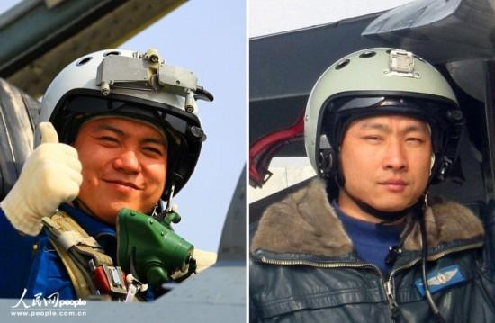 中国空军飞行员