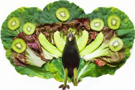 食物变身小动物(图)【9】
