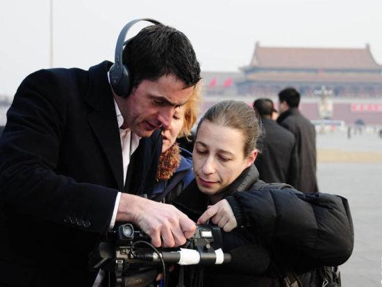 外国记者在中国