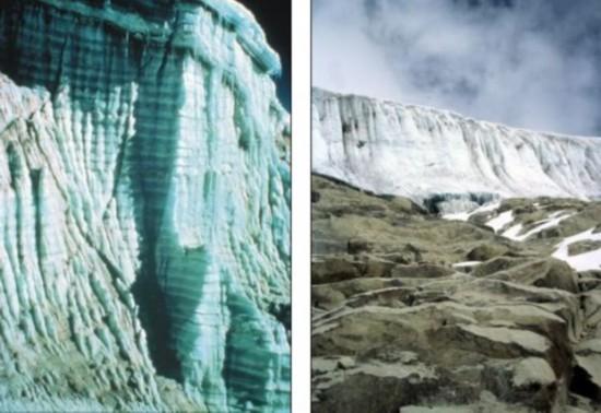 秘鲁安第斯山脉千年冰川短短25年内消融